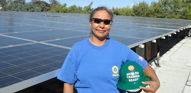 Environmental and Economic Benefits of Building Solar in California: Quality Careers — Cleaner Lives