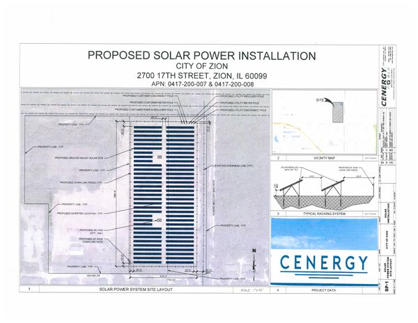 Zion Approves Solar-Power Station for Former Landfill Site